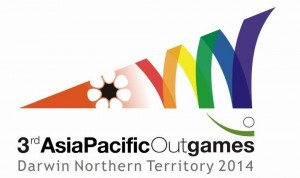 Jacqui Pearce and the Darwin Outgames 2014