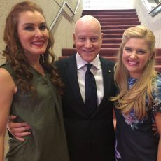The Stars of The Wizard of Oz The Musical: Anthony Warlow, Lucy Durack & Jemma Rix