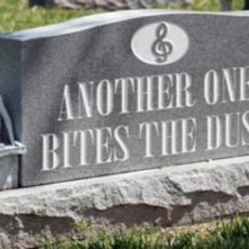 Funeral Songs, Premature Ageing & How Long Should a Holiday Last?