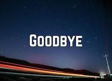 Goodbye BLOG