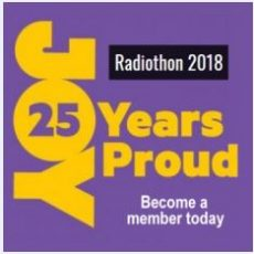 Radiothon 2018 – Out Loud and Proud  for 25 Years