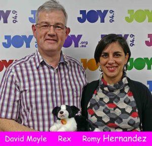 Romy Hernandez met Rex on Bent Notes at JOY 94.9