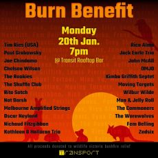 Fem Belling's Burn Benefit Jazz Concert