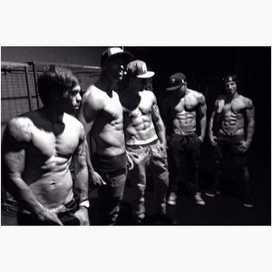 Justice Crew - Shirtless