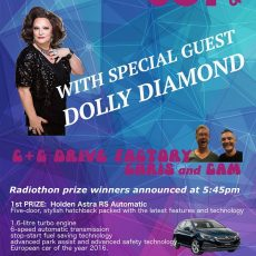Second last show – with Dolly Diamond.