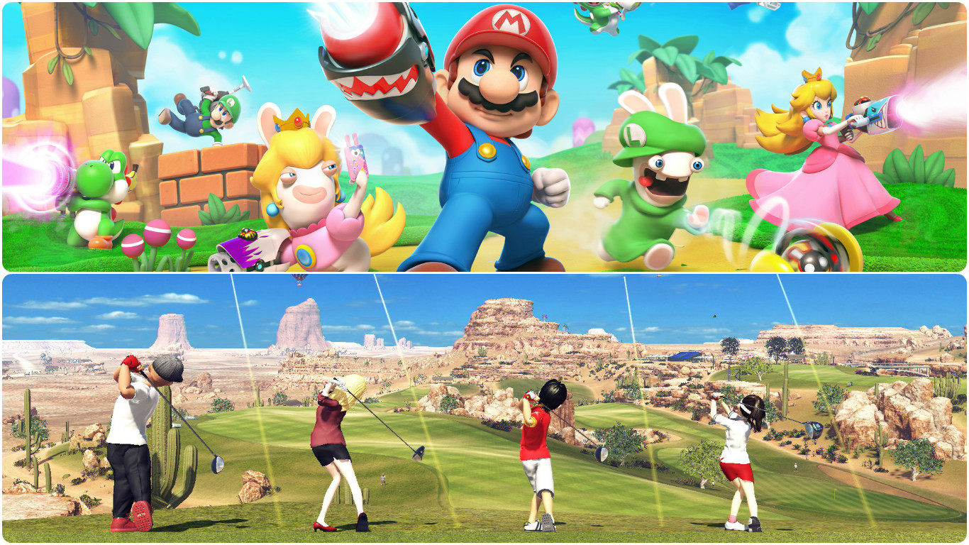 Crossovers Mario and Golf