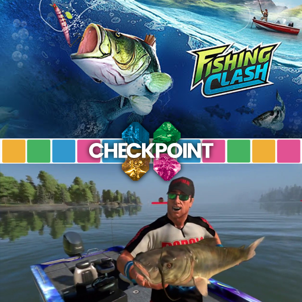 Fishing in games