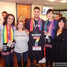 AFL Pride Game – Alicia Sometimes & Nicole Hayes from the Outer Sanctum