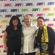 Chicks Talking Footy Podcast special with Peggy O'Neal (Richmond Football Club President)
