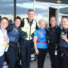 2018 AFLW Pride Game – Victoria Police Gay,Lesbian Liaison Officers (GLLO)