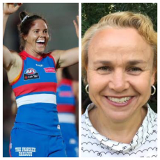 Fi, Motty and special guest co-host Kate O'Halloran dissect the world of football and are joined by Western Bulldogs Emma Kearney and AFL Fans Association's Cheryl Critchley