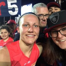 The Chicks talk to Tiff Cherry, how to be a sports host and AFLW