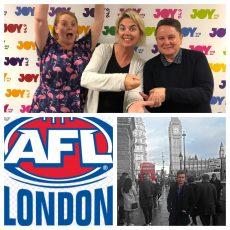 Big Show with Motty, Bec, Bree and Cai Davies from AFL London