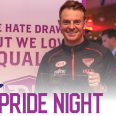 Chicks Talking Footy and North Western Community Pride Nights