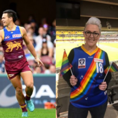 Chicks Talking Footy, Pride Games and cheese platters