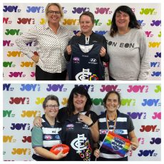 Chicks Talking Footy Pride Game Show with Gabby and Jill from Geelong Pride