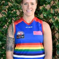 Hannah Scott from Bulldogs AFLW chats Pride Game