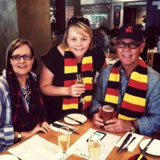 Fan chat with Crows supporter Ann Dahl