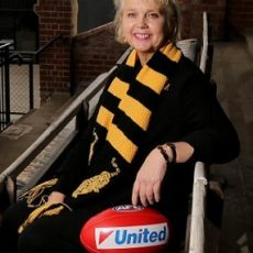 Mini Pod – Richmond Tigers president Peggy O'Neal
