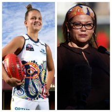 Indigenous Round on CTF with Adelaide Crow Danielle Ponter and the AFL's Tanya Hosch