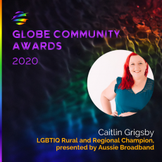 FNL Globe Awards 2020 INTERVIEW series – Caitlyn Grigsby