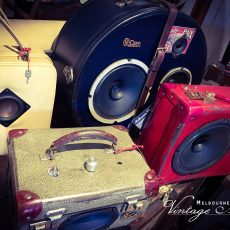 Listen up! New life for old luggage …