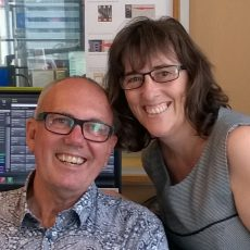 David & Sue do Radiothon Monday Drive