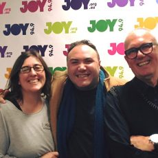 David & Sue – back with each other again and also with Jemma Rix, David Micallef & Trevor Ashley