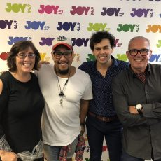 """David & Sue talk to Gareth Jacobs and Ainsley Melham from Disney's """"Aladdin"""""""