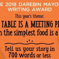 INTERVIEW: Susan Johnston who's one of the judges for the Darebin Mayor's Writing Awards