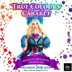 "INTERVIEW: Marilyn Mocktail who's performing in a new variety show ""True Colours Cabaret"" at MC Showroom"