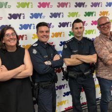INTERVIEW: Inspector Craig Peel & Senior Sgt John Travaglini of Victoria Police Visit to talk Homelessness on the Streets of Melbourne