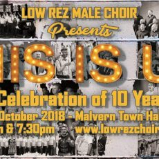 INTERVIEW: Gary Wilson & Michael Howden from Low Rez Choir on their 10th Anniversary Concert – This Is Us