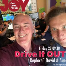 "REQUEST HOUR: It's the Drive It OUT ""JOYsters & Anything Goes"" Request Hour… #ListenNOW"
