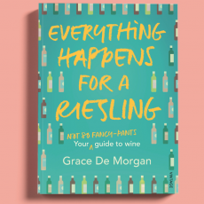 "INTERVIEW: Grace de Morgan on her new book ""Everything Happens for a Riesling"" #ListenNow"
