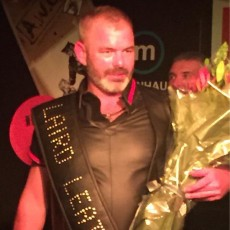 "Mr Laird Leatherman 2015, ""Daddy"" Stephen Morgan"