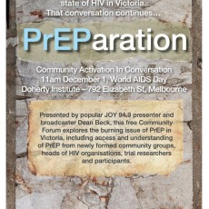 The PrEParation Community Forum