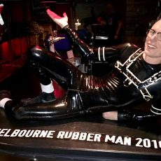 Getting ready for Melbourne Rubber Man 2017