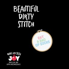 "89. ""Beautiful Dirty Stitch"" – Kinky Crafters"