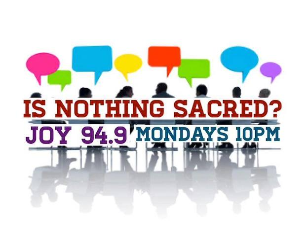Is Nothing Sacred Banner