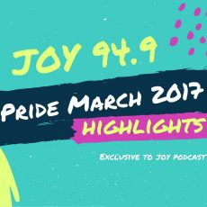 Pride March 2017 Highlights – Interview with Martin Foley
