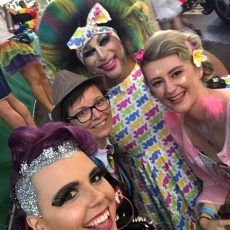 Participant Interviews, Fun, Costumes, Floats – It's All Here in PART 2 of Our JOY Coverage of the Sydney Gay and Lesbian Mardi Gras Parade 2019 #ListenNow