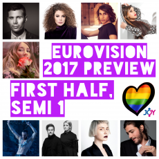 Rockets and Lights: Eurovision 2017 Preview – First Half of Semi 1