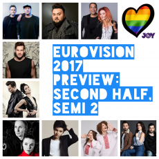 Lost and Alive in the Spirit of the Moment: Eurovision 2017 Preview – Second Half of Semi 2