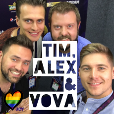 The Hosts: Who Are Alex, Timur and Vova?