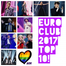 It's a 2017 Eurovision Top 10 Euro Club party!