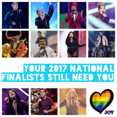 Your 2017 National Finalists Still Need You