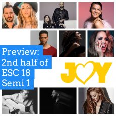 Eurovision 2018: Previewing the second half of Semi Final 1