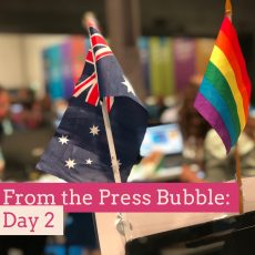 From the 2018 Press Bubble: Day 2