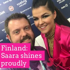 Finland: Saara shines proudly